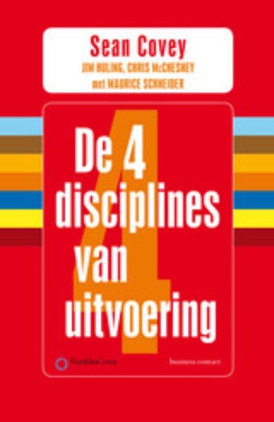 Boek cover De 4 disciplines van uitvoering van Sean Covey (Paperback)
