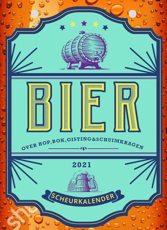 Bier 2021. scheurkalender