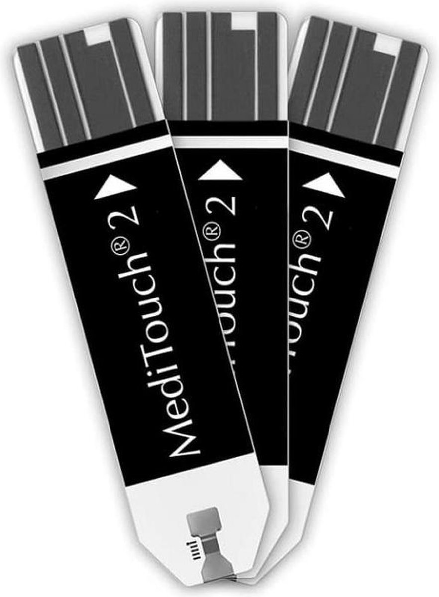 Meditouch 2 teststrips - Bloedsuikermeter
