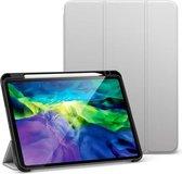 ESR - iPad Air 2020 hoes - 10.9 inch - Rebound Tri-Fold Case met Pencil Houder - Auto Wake Functie - Grijs