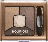 Bourjois - Smoky Stories Quad Eyeshadow Palette Eye Shadow 3,2 g 06 Upside Broun -