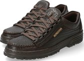 Mephisto Originals CRUISER Heren Veterschoen - Donkerbruin - Maat 43.5
