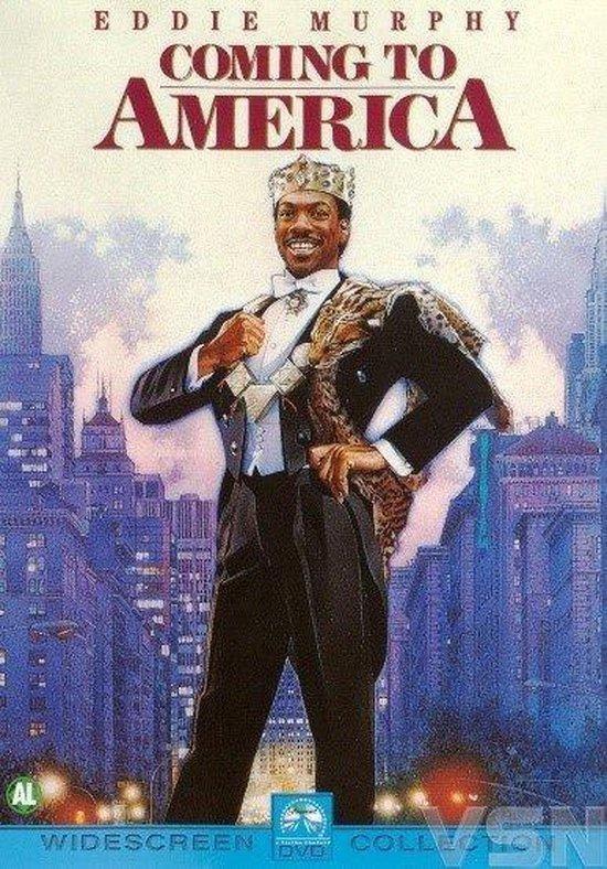 Cover van de film 'Coming To America'