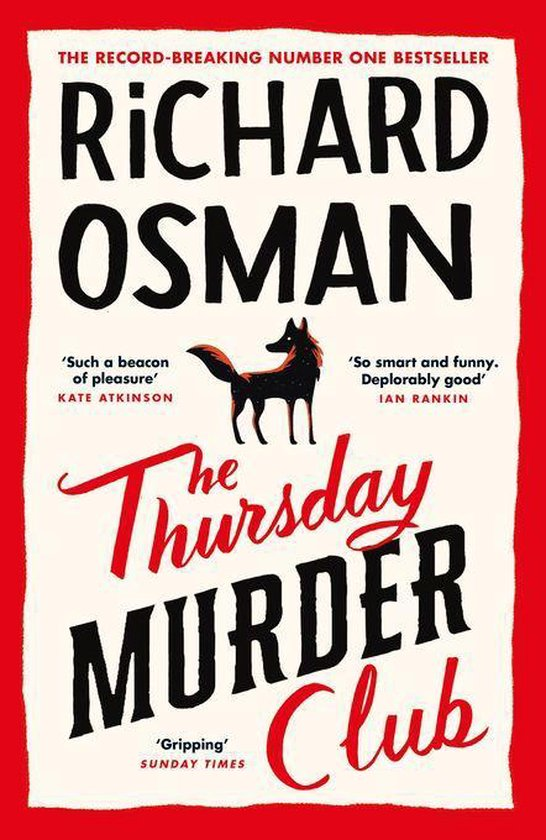 Boek cover The Thursday Murder Club van Richard Osman (Onbekend)