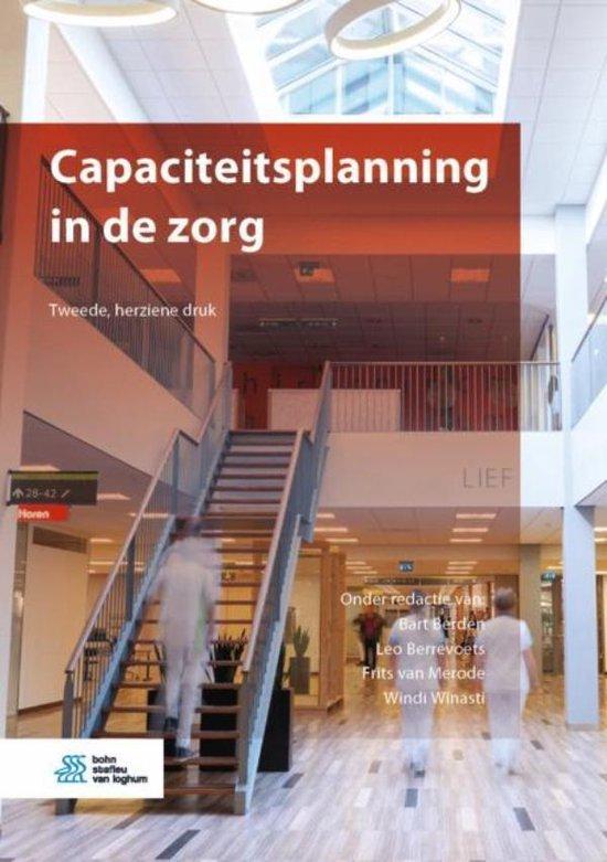 Boek cover Capaciteitsplanning in de zorg van  (Onbekend)