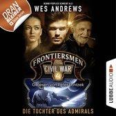 Omslag Frontiersmen: Civil War, Folge 4: Die Tochter des Admirals (Ungekürzt)