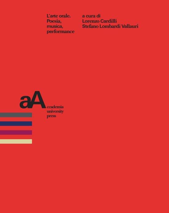 Boek cover Larte orale van Aa.Vv. (Onbekend)