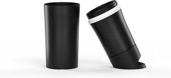 BE O bottle - Drinkfles 500 ml - Gemaakt van suikerriet - Zwart
