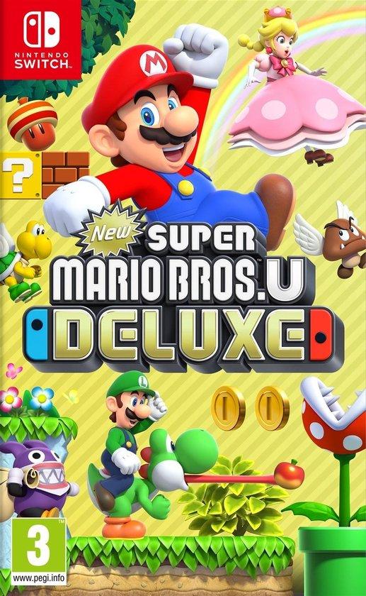 Cover van de game New Super Mario Bros. U Deluxe - Switch