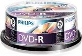Philips DM4S6B25F - DVD-R - 4,7GB - Speed 16x - Spindle - 25 stuks