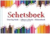 Wh Schetsblok A4 80 Vel Wit