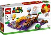 LEGO Super Mario Uitbreidingsset: Wigglers Giftige Moeras - 71383