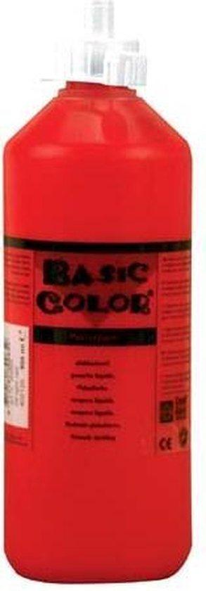 Creall plakkaatverf Basic Color 500ml - Rood