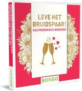 Bongo Bon Nederland - Leve het bruidspaar! - Gastronomisch weekend Cadeaubon - Cadeaukaart cadeau voor koppels | 40 hotels met restaurant en wellnessfaciliteiten