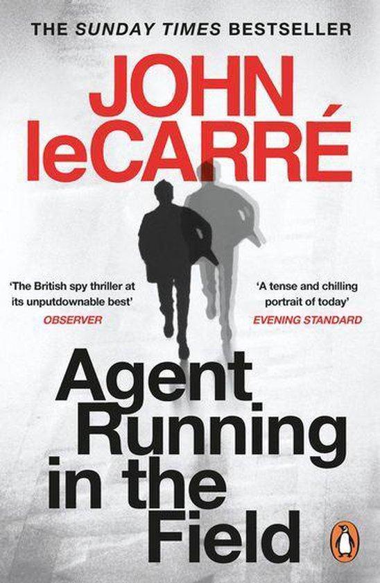 Boek cover Agent Running in the Field van John le Carré