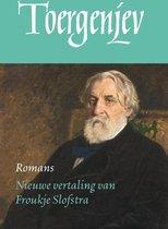 Boek cover De Russische bibliotheek  -   Romans van I.S. Toergenjev (Hardcover)