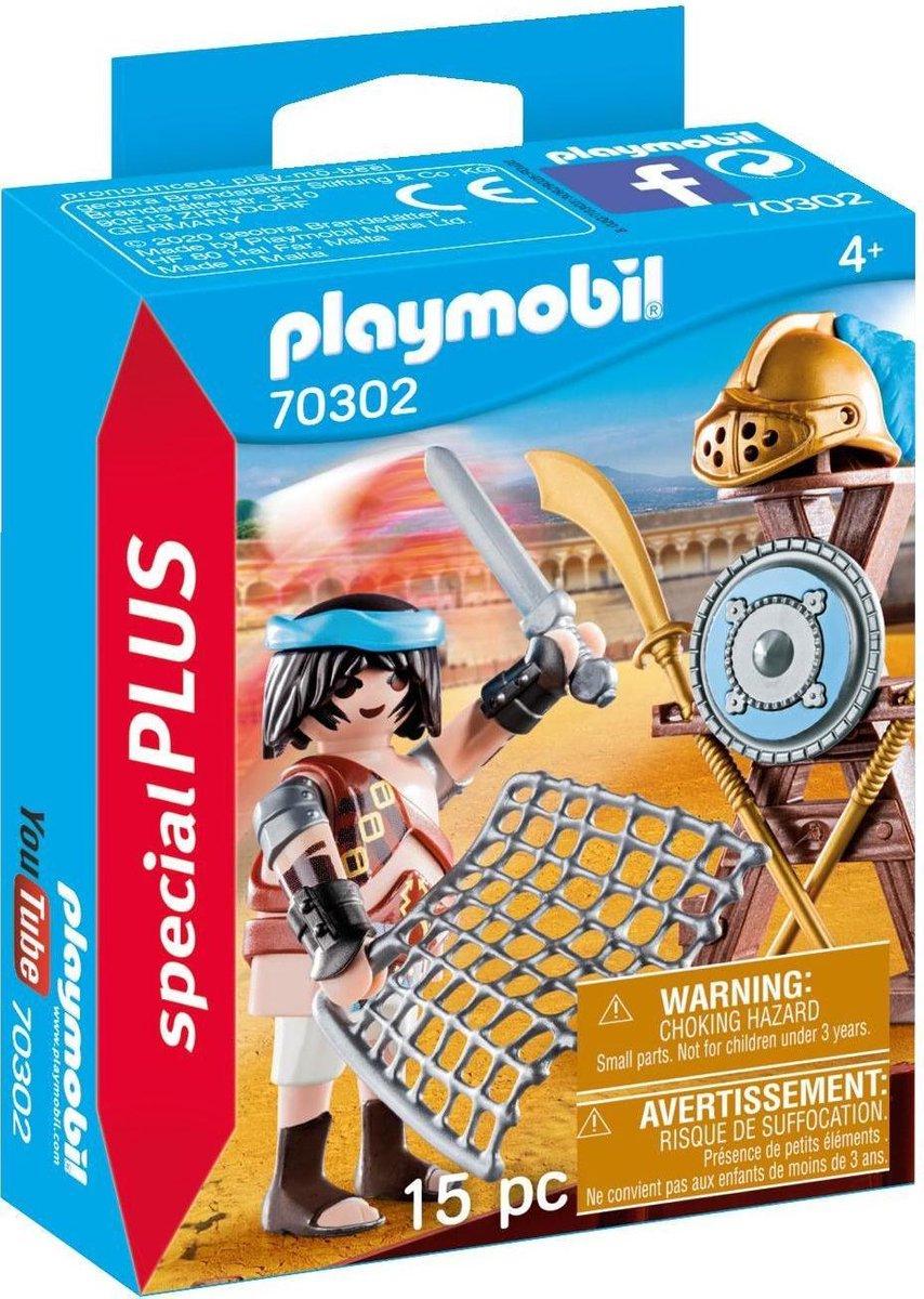 PLAYMOBIL Gladiator met wapens - 70302