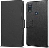 Book Wallet hoesje voor Motorola Moto E6s 2020 / Moto E6i - zwart