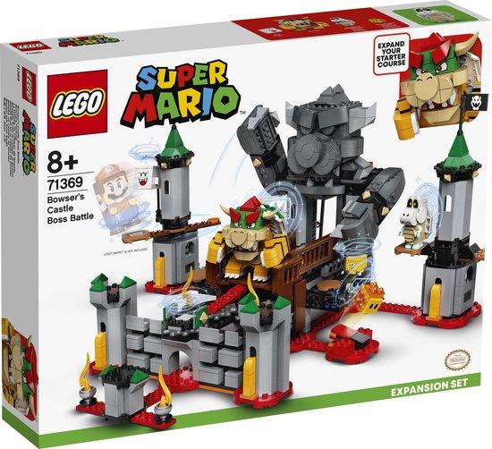 LEGO Super Mario Uitbreidingsset Eindbaasgevecht op Bowsers Kasteel - 71369