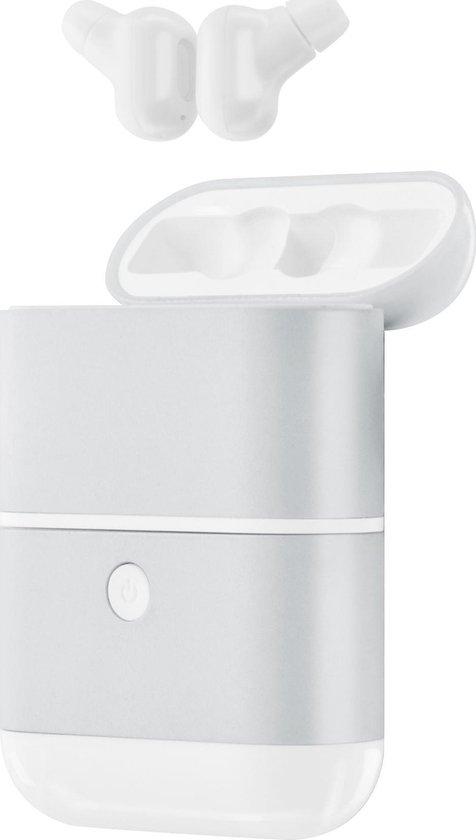 Azuri true wireless twin BT buds mini 2 glossy - white