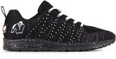 Gorilla Wear Brooklyn Knitted Sneakers (unisex) - Zwart/Wit - 37