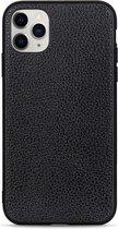 Voor iPhone 11 Pro Litchi Texture lederen opvouwbare beschermhoes (zwart)