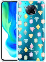 Xiaomi Poco F2 Pro Hoesje Diamonds