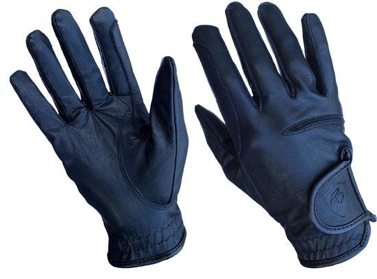 Handschoenen Rider Pro analine special mesh Denver - Zwart, M