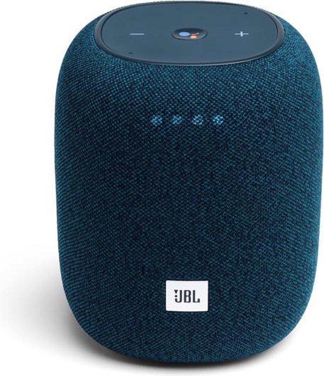 JBL Link Music - Draadloze Smart Speaker - Blauw