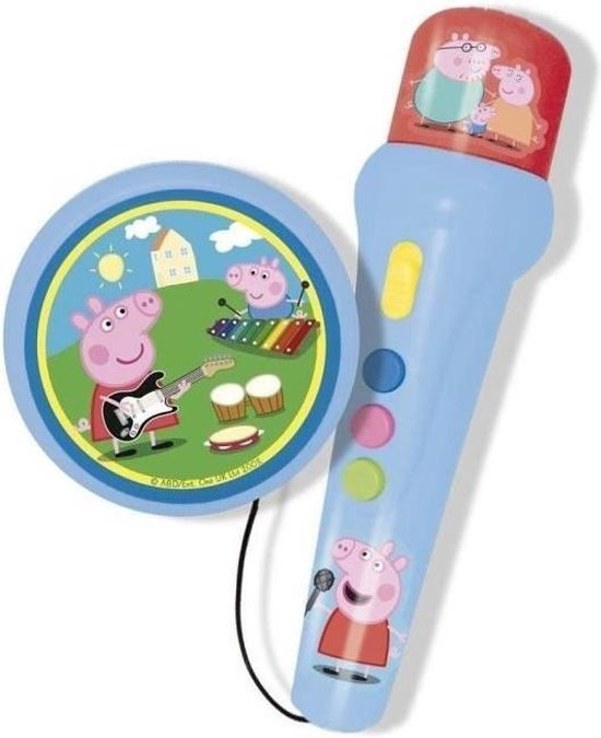 Afbeelding van het spel PEPPA PIG handmicrofoon met versterker en ritme
