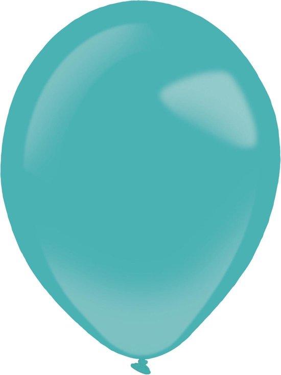 Amscan Ballonnen 13 Cm Latex Turquoise 100 Stuks