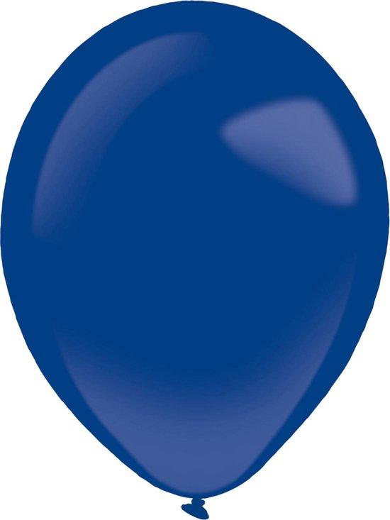 Amscan Ballonnen 28 Cm Latex Donkerblauw 50 Stuks