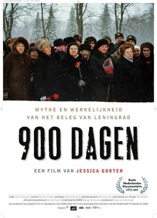 Cover van de film '900 Dagen'