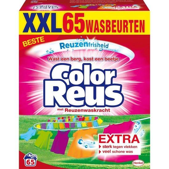Color Reus Waspoeder Wasmiddel - Witte Reus - Voordeelverpakking - 65 wasbeurten