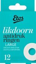 Etos Likdoorn Anti-Drukringen Large - 4 x 12 stuks