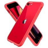 Spigen Ultra Hybrid 2 Case Apple iPhone 7/8 iphone SE 2020 - 042CS21724 - Rood