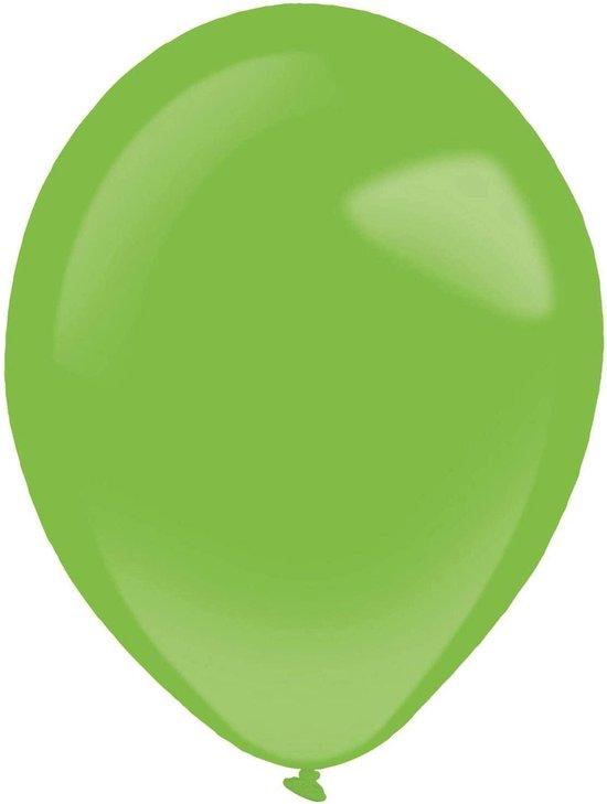 Amscan Ballonen 13 Cm Latex Groen 100 Stuks