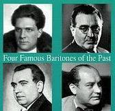 Four Famous Baritones of the Past - Urbano, Sarobe, et al