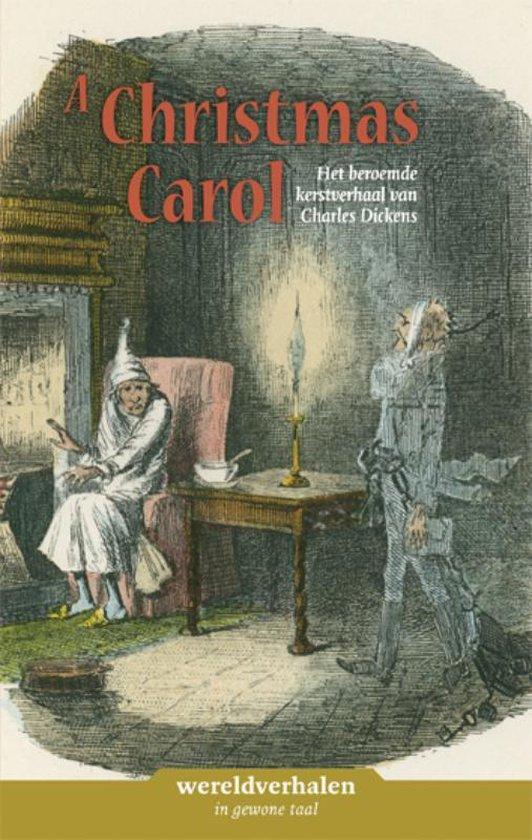Boek cover Wereldverhalen 6 -   A christmas carol van Charles Dickens (Hardcover)