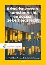 Boek cover Arbeidsovereenkomstenrecht en sociaalzekerheidsrecht van W.G.M. Plessen