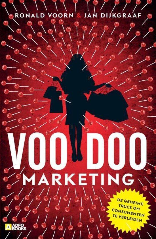Boek cover Voodoo-marketing van Ronald Voorn (Paperback)