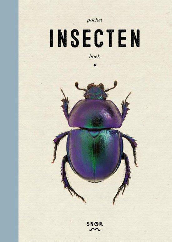Boek cover Pocket insectenboek van Gerard Janssen