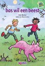 Samenleesboeken  -   Bas wil een beest