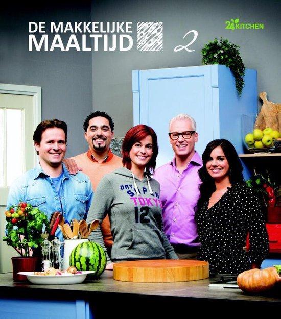 Cover van het boek 'De makkelijke maaltijd 2' van 24 Kitchen