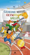 Boek cover Geronimo Stilton  -   Geheime missie: Olympische Spelen van Geronimo Stilton