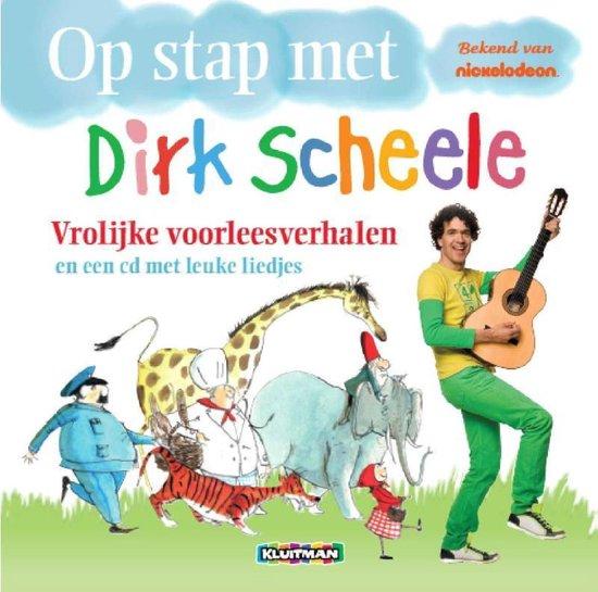 CD cover van Vrolijke Voorleesverhalen van Dirk Scheele