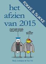 Boek cover Fokke & Sukke  -   Het afzien van 2015 van Reid
