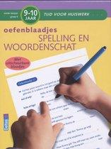 Tijd voor huiswerk  -  Oefenblaadjes spelling en woordenschat 9-10 jaar
