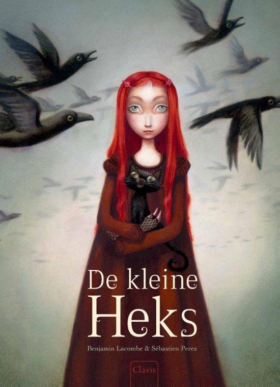 Boek cover De kleine heks van Benjamin Lacombe (Hardcover)