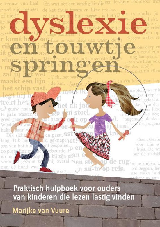 Boek cover Dyslexie en touwtjespringen van Vitataal (Paperback)